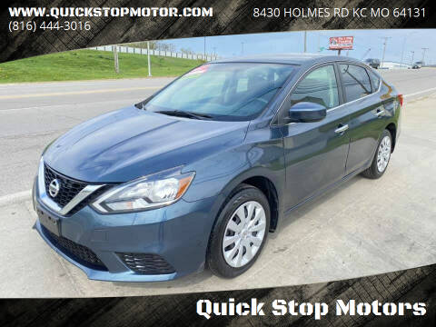 2017 Nissan Sentra for sale at Quick Stop Motors in Kansas City MO