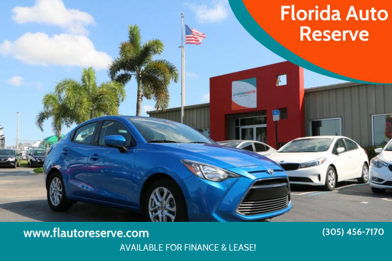 2018 Toyota Yaris iA for sale at Florida Auto Reserve in Medley FL