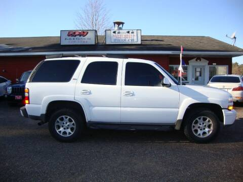 2006 Chevrolet Tahoe for sale at G and G AUTO SALES in Merrill WI