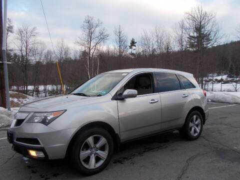 2011 Acura MDX for sale at Manchester Motorsports in Goffstown NH
