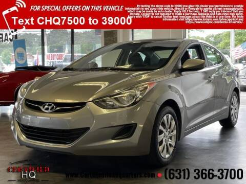 2012 Hyundai Elantra for sale at CERTIFIED HEADQUARTERS in Saint James NY