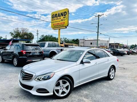 2014 Mercedes-Benz E-Class for sale at Grand Auto Sales in Tampa FL