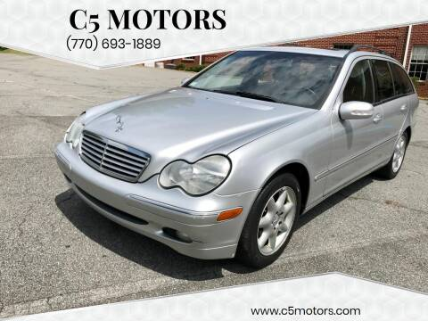 2004 Mercedes-Benz C-Class for sale at C5 Motors in Marietta GA