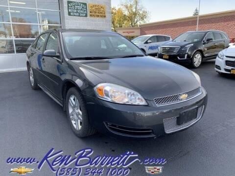 2013 Chevrolet Impala for sale at KEN BARRETT CHEVROLET CADILLAC in Batavia NY