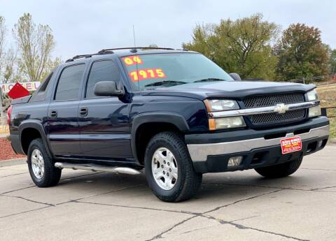 2004 Chevrolet Avalanche for sale at SOLOMA AUTO SALES in Grand Island NE