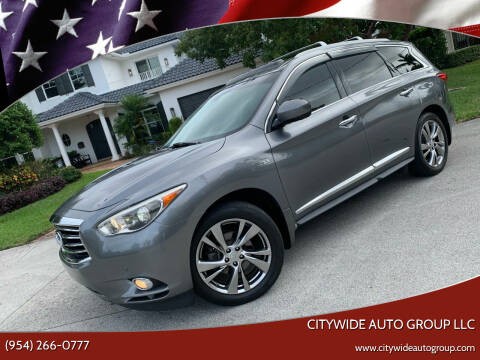 2015 Infiniti QX60 for sale at Citywide Auto Group LLC in Pompano Beach FL