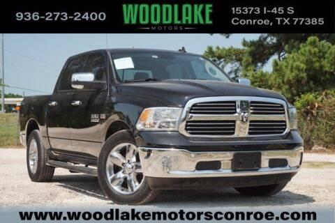 2018 RAM Ram Pickup 1500 for sale at WOODLAKE MOTORS in Conroe TX