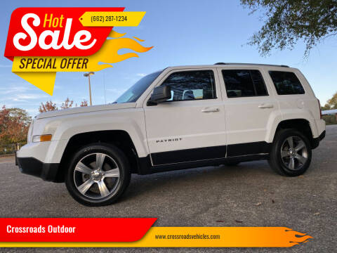 2016 Jeep Patriot for sale at Crossroads Outdoor in Corinth MS