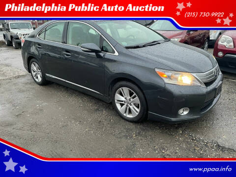 2010 Lexus HS 250h for sale at Philadelphia Public Auto Auction in Philadelphia PA