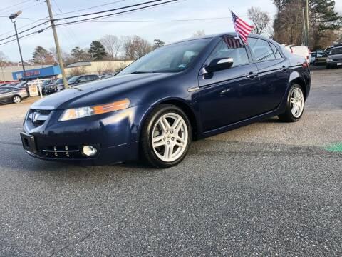 2007 Acura TL for sale at Mega Autosports in Chesapeake VA