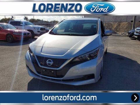 2019 Nissan LEAF for sale at Lorenzo Ford in Homestead FL
