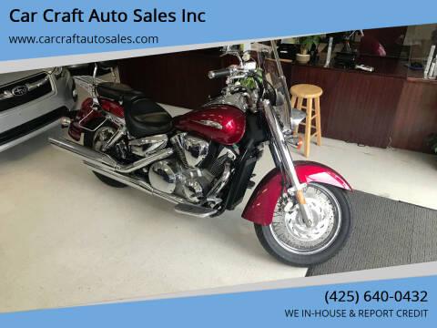 2004 Honda VTX for sale at Car Craft Auto Sales Inc in Lynnwood WA