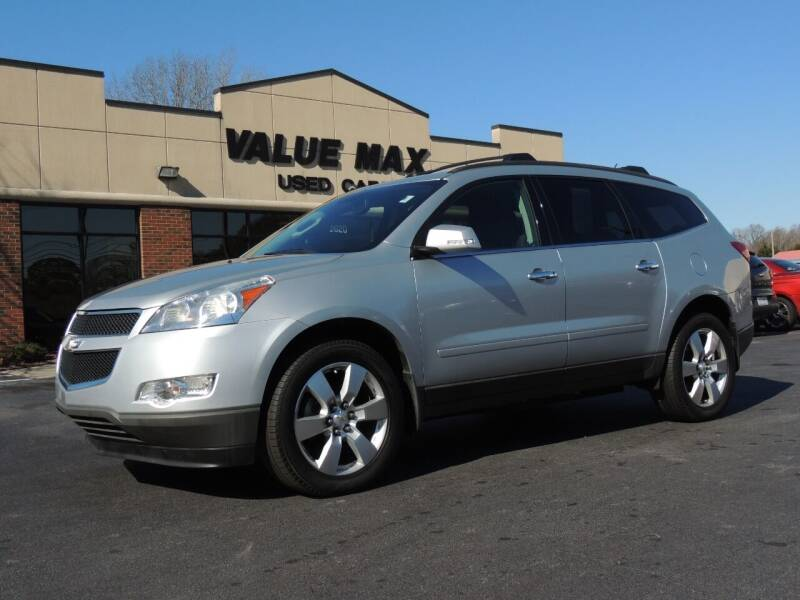 2012 Chevrolet Traverse for sale at ValueMax Used Cars in Greenville NC
