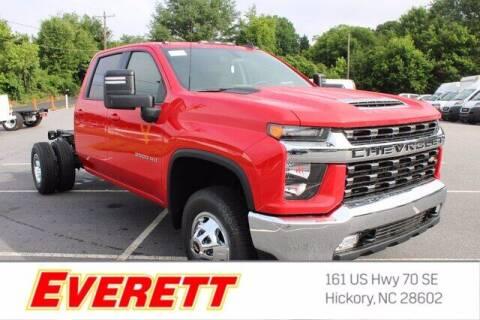 2021 Chevrolet Silverado 3500HD CC for sale at Everett Chevrolet Buick GMC in Hickory NC