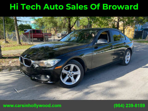 2014 BMW 3 Series for sale at Hi Tech Auto Sales Of Broward in Hollywood FL
