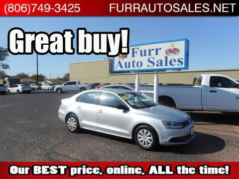 2013 Volkswagen Jetta for sale at FURR AUTO SALES in Lubbock TX