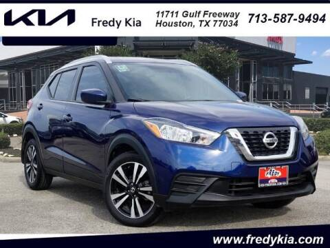 2019 Nissan Kicks for sale at FREDY KIA USED CARS in Houston TX
