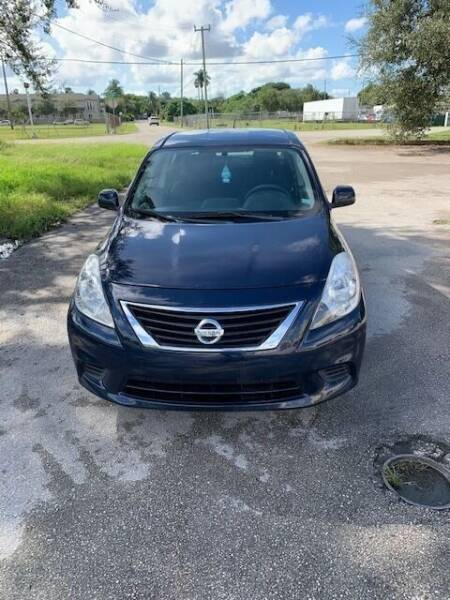 2014 Nissan Versa for sale at VC Auto Sales in Miami FL