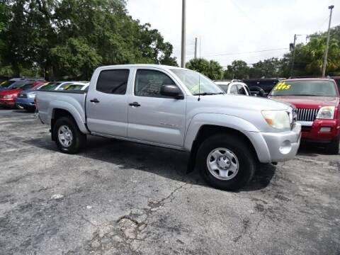 2009 Toyota Tacoma for sale at DONNY MILLS AUTO SALES in Largo FL