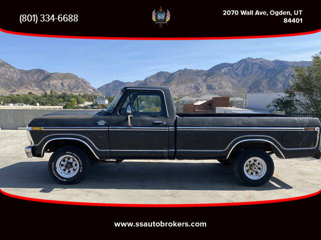1978 Ford F-150 for sale at S S Auto Brokers in Ogden UT