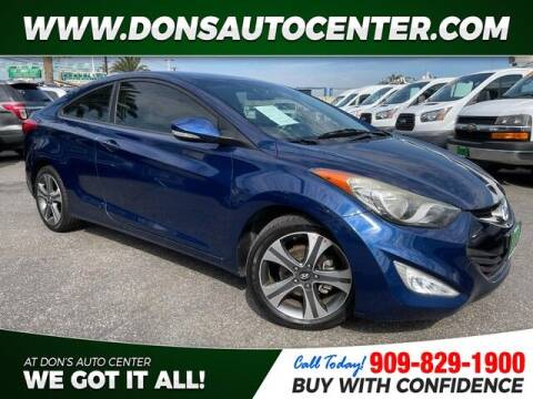2013 Hyundai Elantra Coupe for sale at Dons Auto Center in Fontana CA