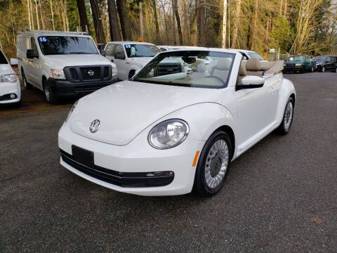 2016 Volkswagen Beetle Convertible for sale at Auto Car Zone, LLC in Kirkland WA