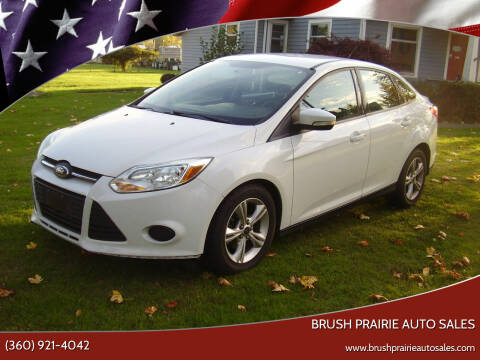 2013 Ford Focus for sale at Brush Prairie Auto Sales in Battle Ground WA