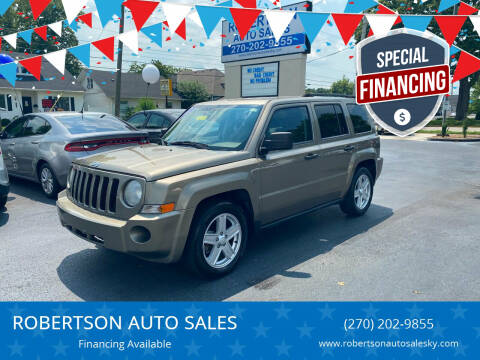 2007 Jeep Patriot for sale at ROBERTSON AUTO SALES in Bowling Green KY
