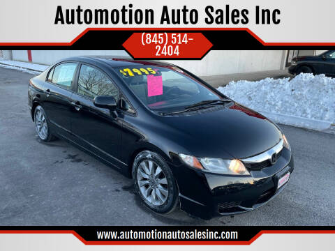 2010 Honda Civic for sale at Automotion Auto Sales Inc in Kingston NY