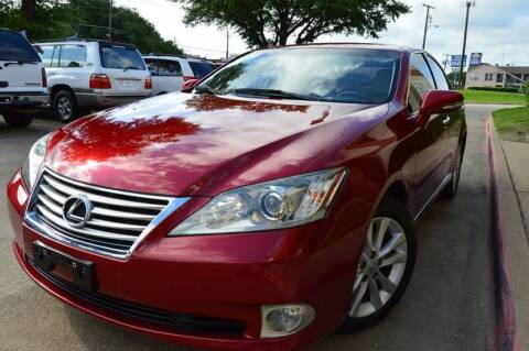 2010 Lexus ES 350 for sale at E-Auto Groups in Dallas TX