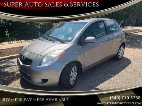 2008 Toyota Yaris for sale at Super Auto Sales & Service in Fredericksburg VA