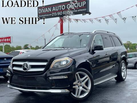 2013 Mercedes-Benz GL-Class for sale at Divan Auto Group in Feasterville Trevose PA