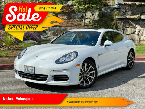 2015 Porsche Panamera for sale at Mudarri Motorsports in Kirkland WA