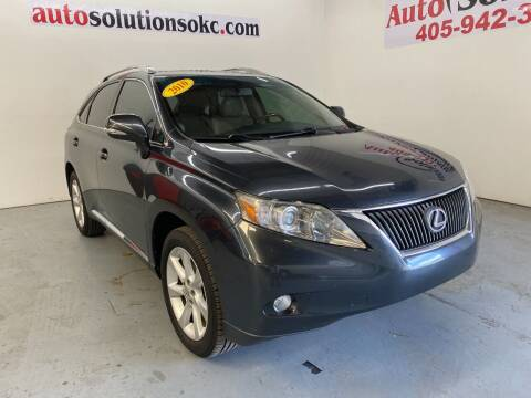 2010 Lexus RX 350 for sale at Auto Solutions in Warr Acres OK