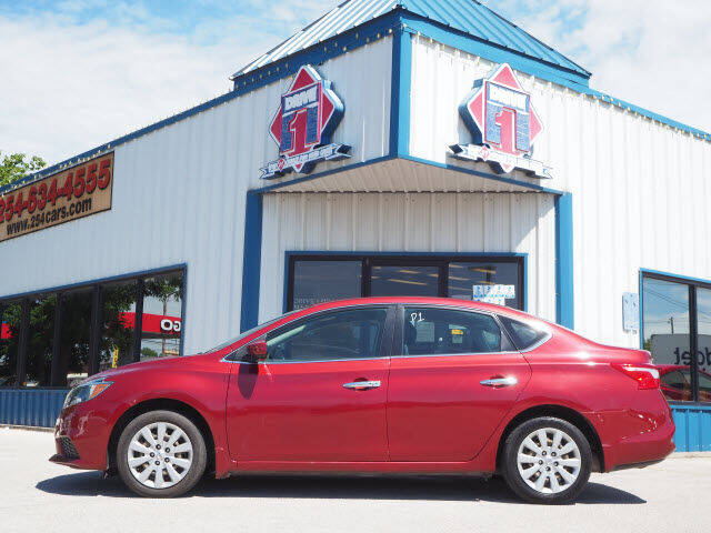 2017 Nissan Sentra for sale at DRIVE 1 OF KILLEEN in Killeen TX