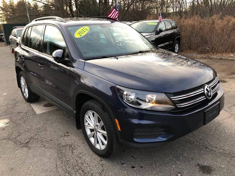 2015 Volkswagen Tiguan for sale at TOLLAND CITGO AUTO SALES in Tolland CT
