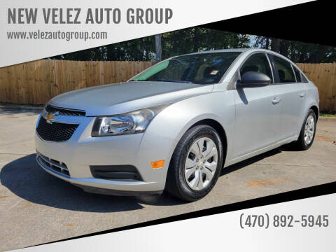 2013 Chevrolet Cruze for sale at NEW VELEZ AUTO GROUP in Gainesville GA