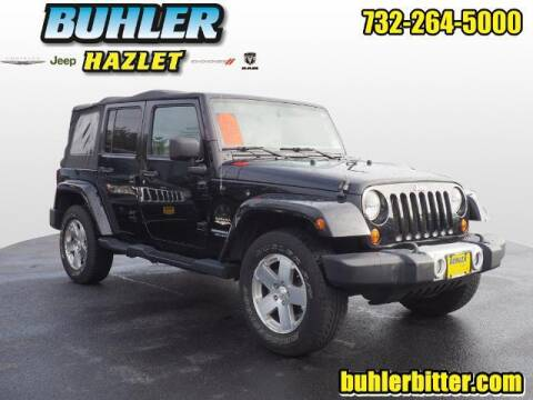 2008 Jeep Wrangler Unlimited for sale at Buhler and Bitter Chrysler Jeep in Hazlet NJ