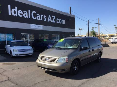 2006 Ford Freestar for sale at Ideal Cars in Mesa AZ