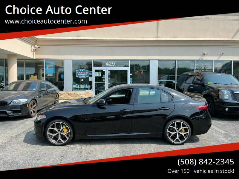 2018 Alfa Romeo Giulia for sale at Choice Auto Center in Shrewsbury MA