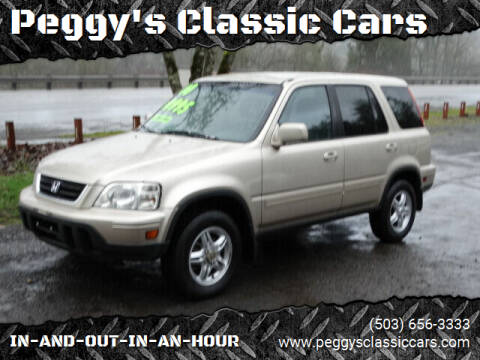 2000 Honda CR-V for sale at Peggy's Classic Cars in Oregon City OR