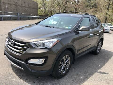 2013 Hyundai Santa Fe Sport for sale at SARRACINO AUTO SALES INC in Burgettstown PA