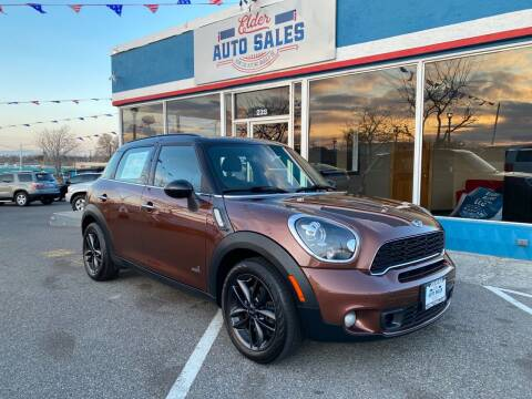 2013 MINI Countryman for sale at ELDER AUTO SALES LLC in Coeur D'Alene ID