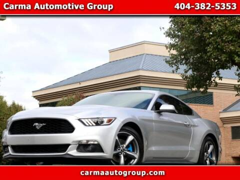 2017 Ford Mustang for sale at Carma Auto Group in Duluth GA