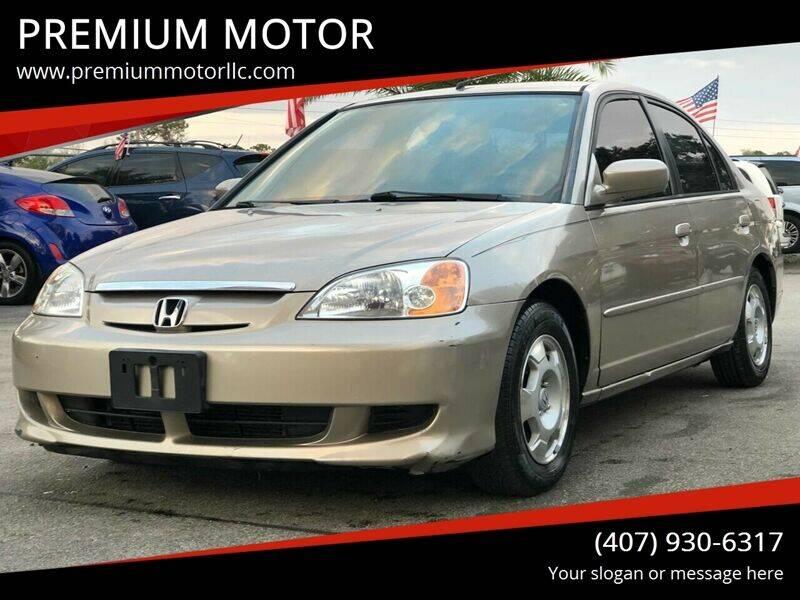 2003 Honda Civic for sale at PREMIUM MOTOR in Orlando FL