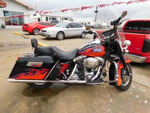 2006 Harley-Davidson Road King for sale at Motorsports Unlimited in McAlester OK