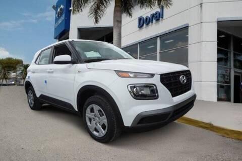 2020 Hyundai Venue for sale at DORAL HYUNDAI in Doral FL