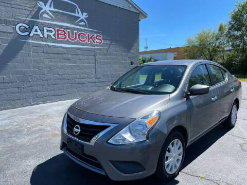 2016 Nissan Versa for sale at Carbucks in Hamilton OH