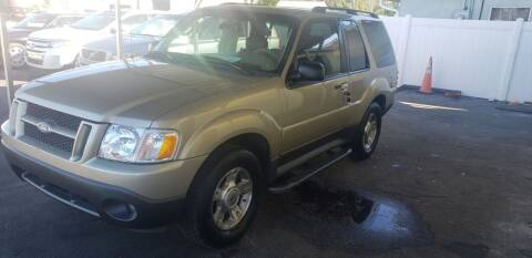 2003 Ford Explorer Sport for sale at ANYTHING ON WHEELS INC in Deland FL