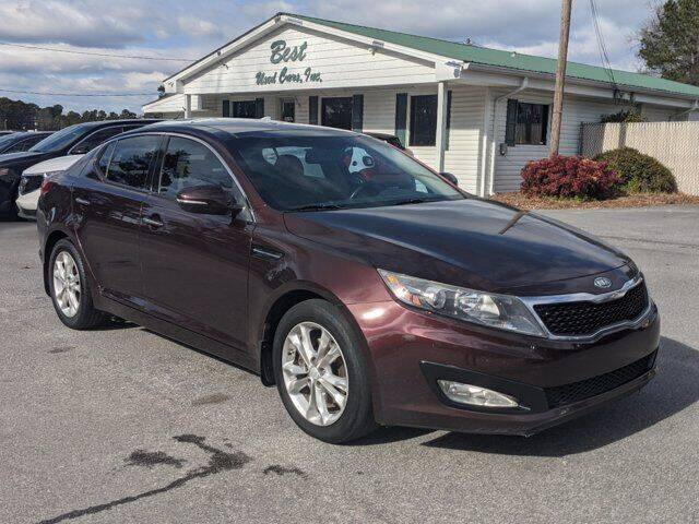 2012 Kia Optima for sale at Best Used Cars Inc in Mount Olive NC
